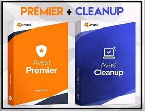 Avast Premier 2018 + Cleanup Chave Original 10 Anos 6 Pc