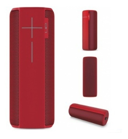 Caixa De Som Ultimate Ears Megaboom Bluetooth Vermelha 36w
