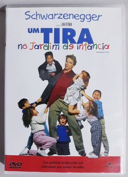 Dvd Um Tira No Jardim De Infância (original)