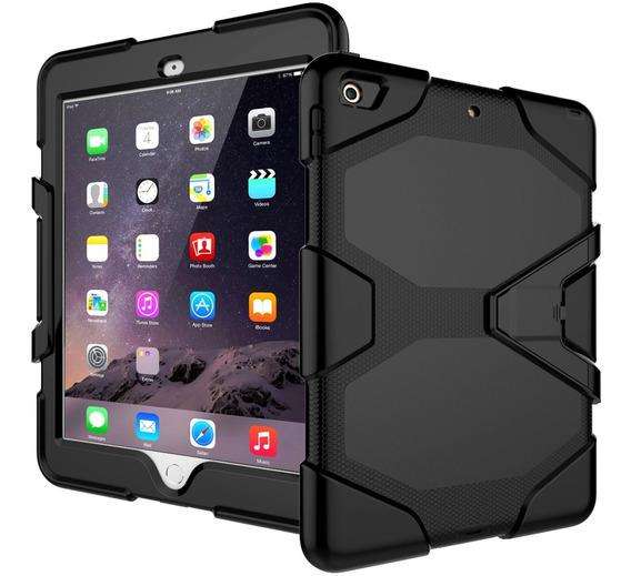 Funda Tablet Tipo Survivor Antigolpes Base Mica iPad Pro 9.7
