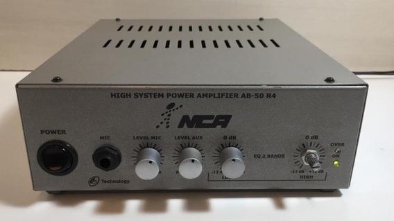 High System Power Nca - Amplifier Ab-50 R4 - Testado 100%