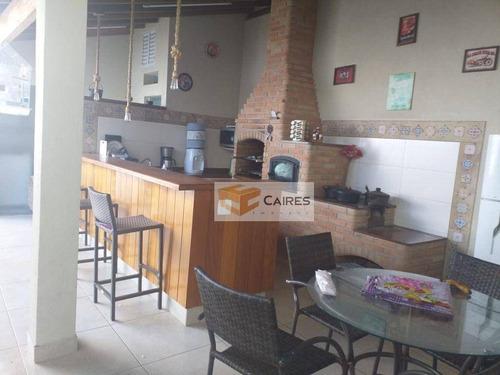 Imagem 1 de 15 de Casa Com 3 Dormitórios À Venda, 130 M² Por R$ 565.000,00 - Parque Jambeiro - Campinas/sp - Ca3286