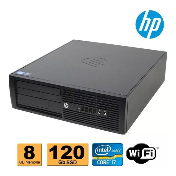 Computador Desktop Hp Compaq Pro 4300 I7 8gb 120 Ssd Wifi