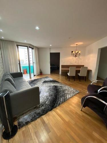 Apartamento Com 3 Dormitórios À Venda, 110 M² - Vila Euclides - São Bernardo Do Campo/sp - Ap64062