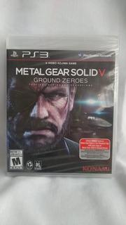 Metal Gear Solid V: Ground Zeroes - Nuevo Y Sellado - Ps3