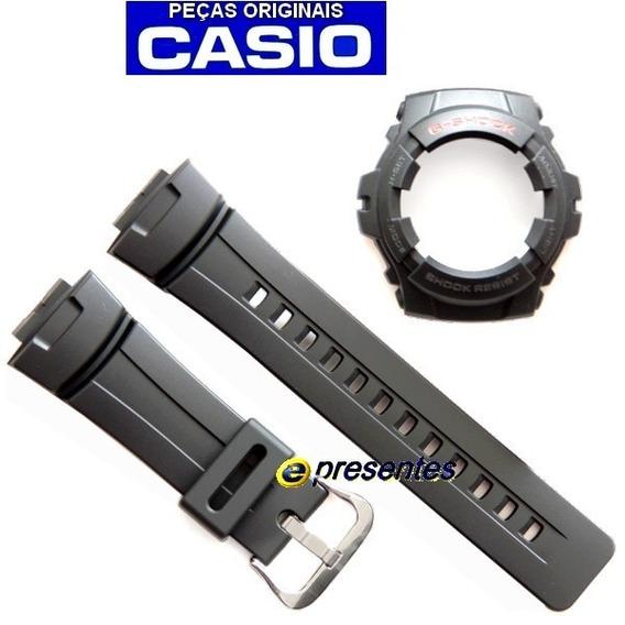 Pulseira + Bezel G-100 G-101 Casio G-shock Peças Originais
