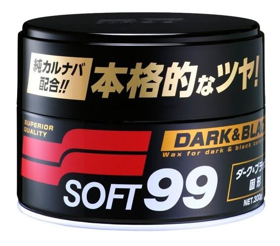 Cera De Carnaúba Premium - 300g Soft99 Dark & Black Paste Wa