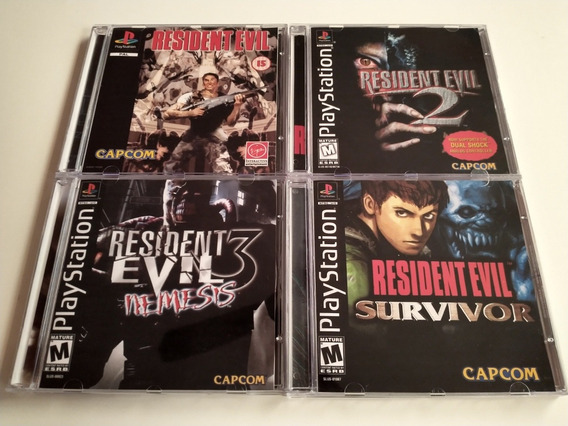 Resident Evil Collection - Psone Patch ( Compre 3 Leve 4 )