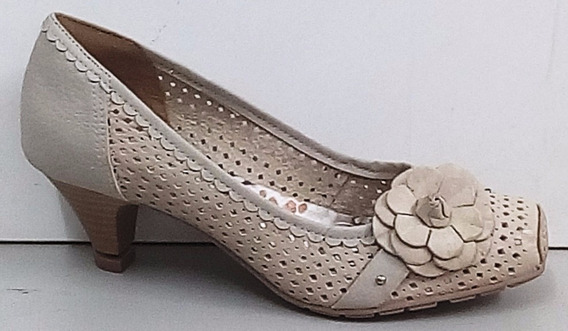 Sapato Salto Baixo Dakota B3295