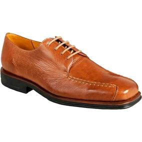 Sapato Social Masculino Derby Sandro Moscoloni Adams Marrom