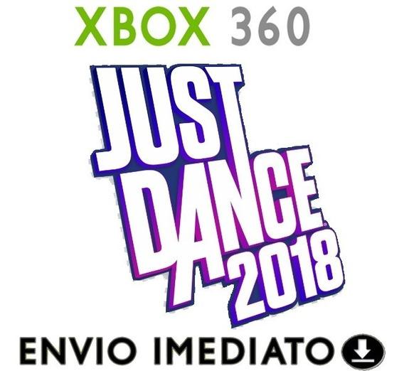 Just Dance 2018 - Xbox 360 - Transferência - Mídia Digital