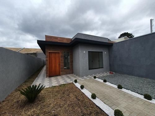 Casa Para Venda Em Fazenda Rio Grande, Estados, 2 Dormitórios, 1 Suíte, 2 Banheiros, 2 Vagas - 1256_2-1116244