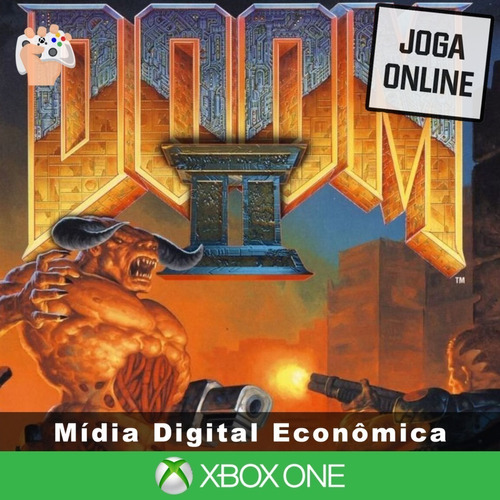 Doom 2 - Xbox One - Mídia Digital + Brinde
