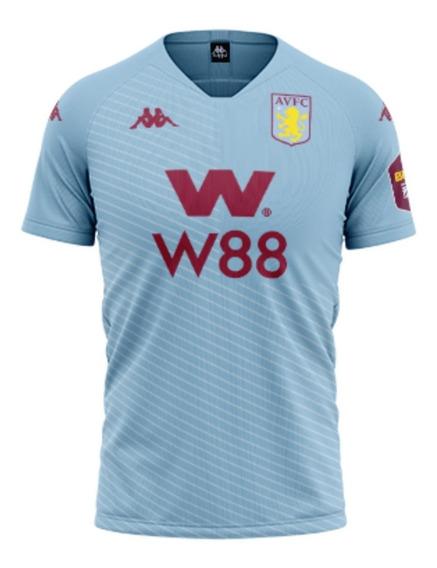 Camisa De Futebol Aston Villa Oficial Mega Desconto Confira