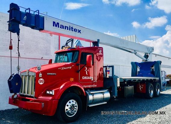 Camión Grúa Titan Manitex Hiab National Kenworth