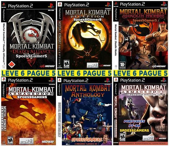 Mortal Kombat Collection (6 Jogos) Patch Ps2 Desbloqueado