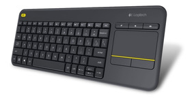 Teclado Touchpad Wifi Logitech K400 Plus Smart