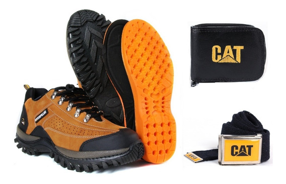 3coturno Bota Tenis Caterpillar Adventure Original E Kit Cat