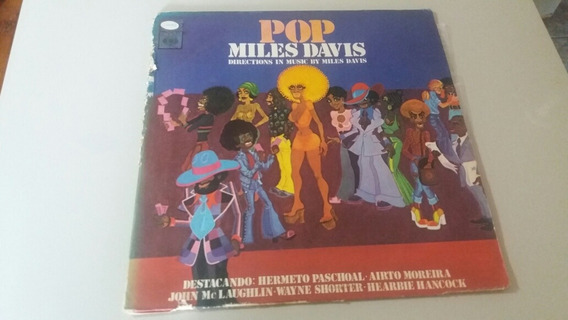 Lp Miles Davis Pop