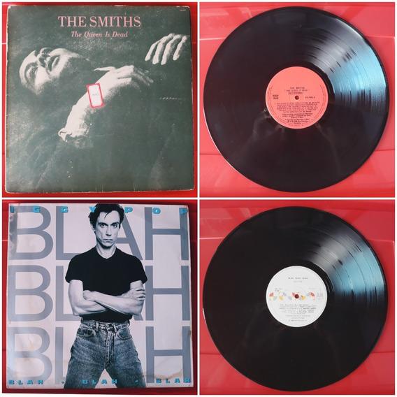 2 Lp Iggy Pop Blah Blah - Smiths - The Queen Is Dead - Lote