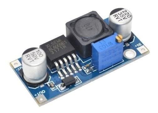 Regulador Tensão Dc-dc Step Up Booster Xl6009 4amp Arduino