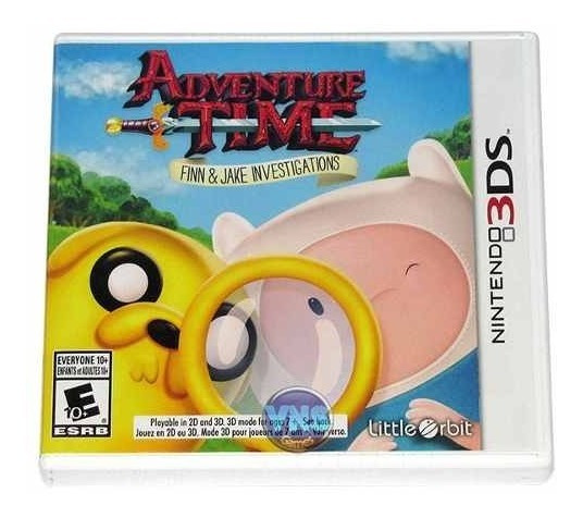 Adventure Time Finn And Jake Investigations - 3ds - Novo