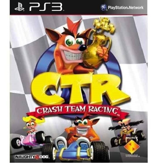 Crash Ctr (versão Classica) Ps3 Via Psn Original