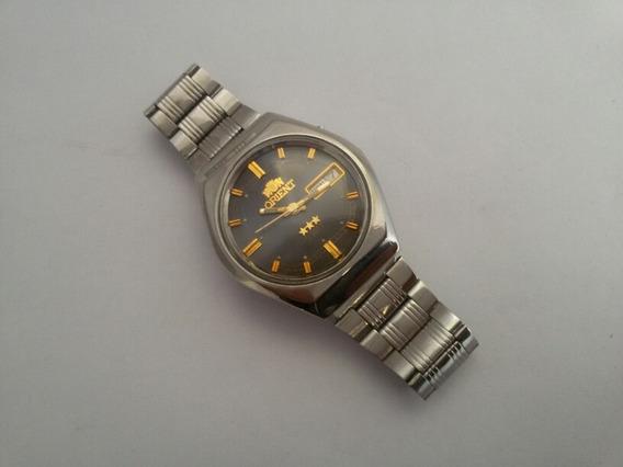 Relógio Orient Antigo E Original, Funcionando.