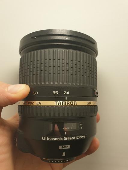 Lente Tamron Sp 24 70mm F 2.8 Usd Di Vc Para Nikon