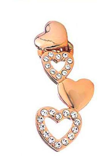 Collar Y Dije Corazones Y Diamantes