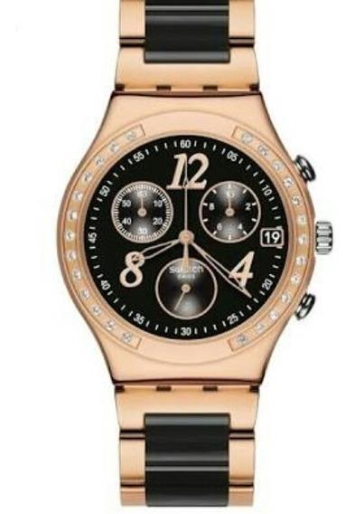 Relógio Swatch Dream Night Rose Ycg404g