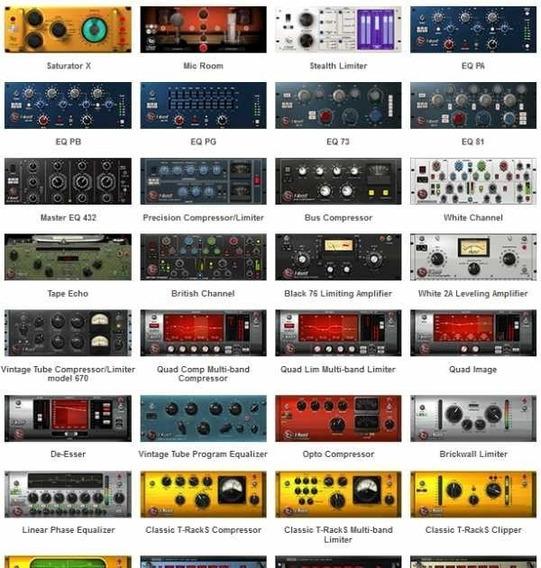 T-racks.cs V4.10, + Waves Complete V9r30 Aax
