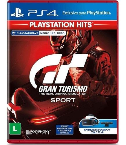 Gran Turismo Sport Ps4 Disco Físico