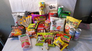 5 Piezas Grandes Elegir Dulces Coreanos Ramen Papas Bebidas