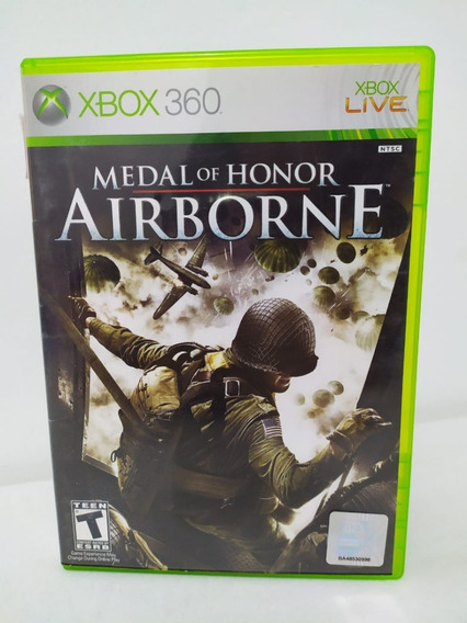 Jogo Medal Of Honor Airborne Original Xbox 360 Físico 0052