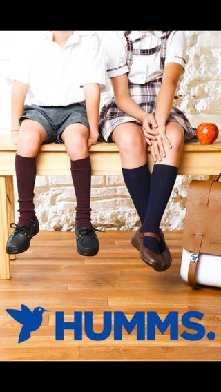 Zapatos Colegiales Humms Sin Cordones 35 Al 40, Zona Norte