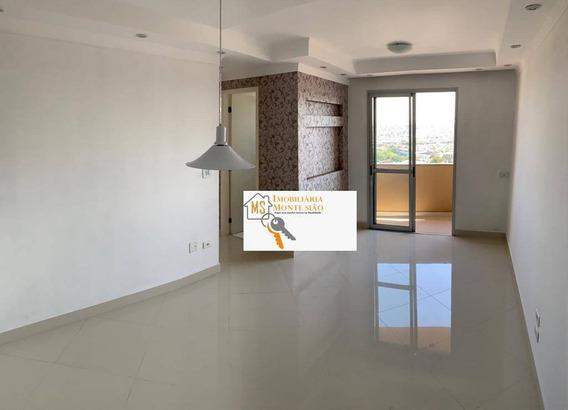 Lindo Apartamento No The Jazz Com 2 Dormitórios, 59 M² - Vila Milton - Guarulhos/sp - Ap1173