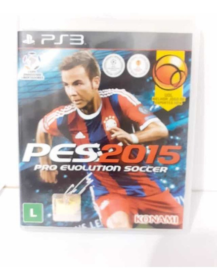Pro Evolution Soccer Pes 2015 Ps3 Mídia Física Original