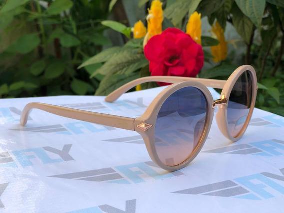 Óculos De Sol Fly Eyewear Nude, Proteção Uv400 Original