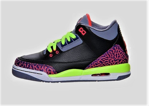 Air Jordan 3 Retro 2013 (gs) 441140-039 (zeronduty) 24.5mx