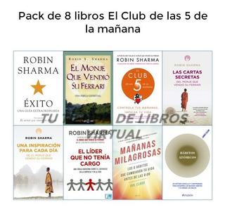 El Club De Las Cinco De La Mañana-robin Sharma Pack 4 Libros