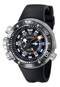 Relógio Citizen Aqualand Eco-drive Bn2024-05e Lançamento