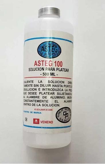Solución Para Platear 500ml Asteg
