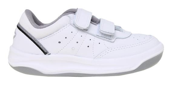 Zapatillas Topper C Tennis X Forcer Kids Abrojo Bl/ng