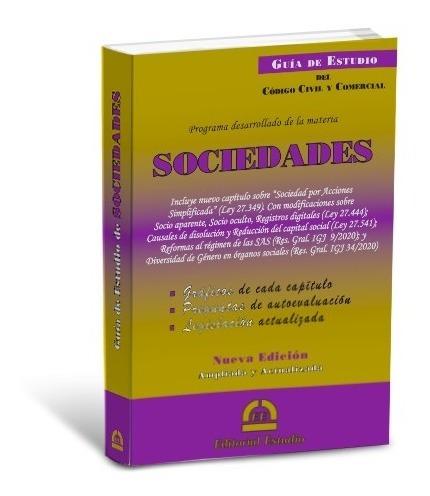 Guía De Estudio De Sociedades -última Edición- Ed. Estudio