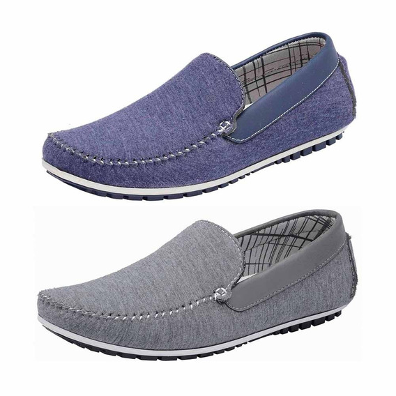 Combo 2 Pares Mocassim Masculino Avalon Kit-58 Docksiders