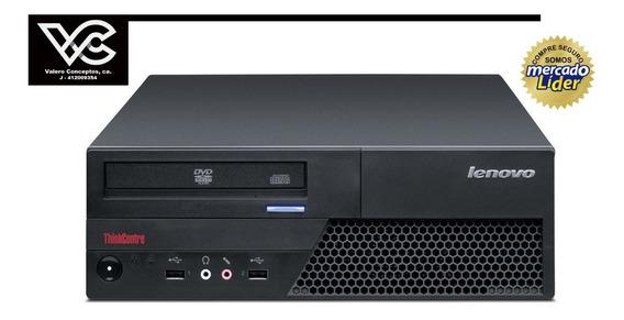 Computadora Cpu Lenovo Ddr2 Core Duo 2.0ghz 160 Gb Ram 2gb