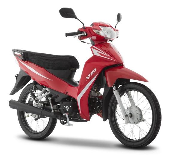 Moto Italika Xt110 Rojo