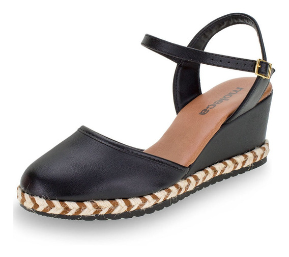 Sapato Feminino Espadrille Moleca - 5681100