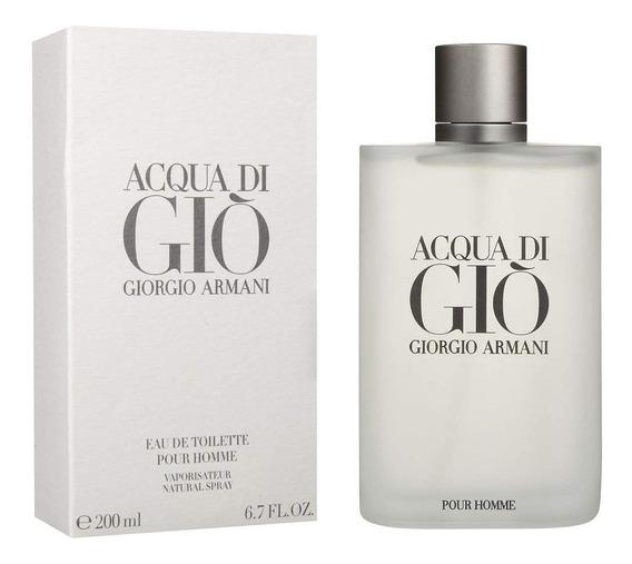 Perfume Acqua Di Gio Pour Homme 200ml Edt - Original!! + Nf
